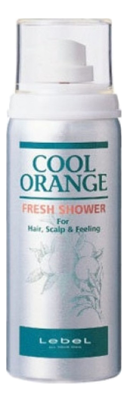 Купить Освежитель для волос и кожи головы Cool Orange Fresh Shower 75мл, Lebel
