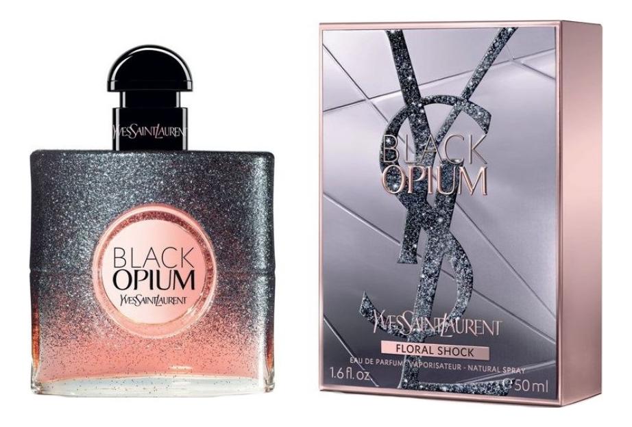 YSL Black Opium Floral Shock: парфюмерная вода 50мл ysl black opium collector edition 2018 парфюмерная вода 50мл тестер