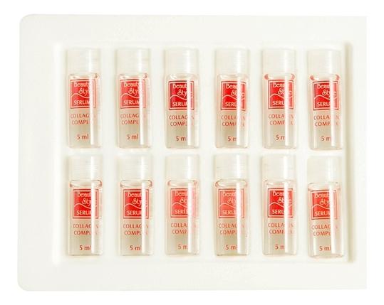 Коллагеновый комплекс для лица и кожи вокруг глаз Serum Collagen Complex 12*5мл neocell collagen beauty builder купить