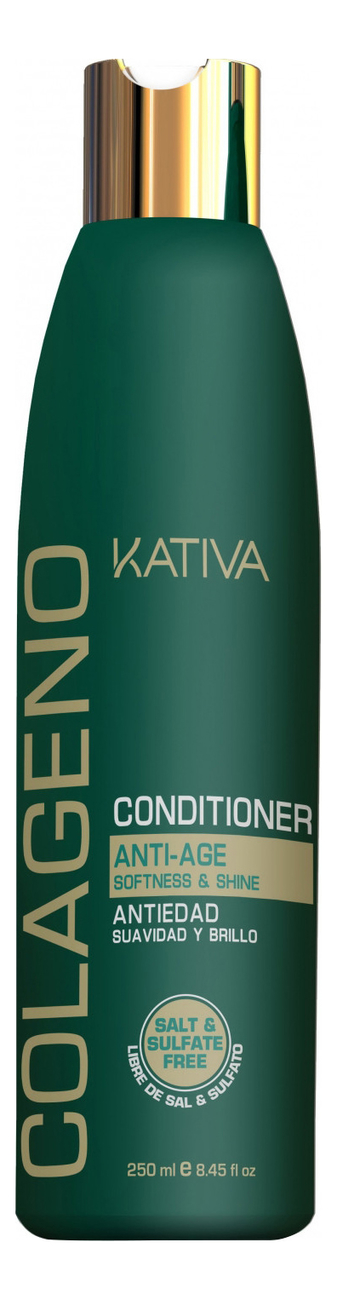 Коллагеновый восстанавливающий кондиционер для волос Colageno Anti-Age Conditioner 250мл: Кондиционер 250мл недорого
