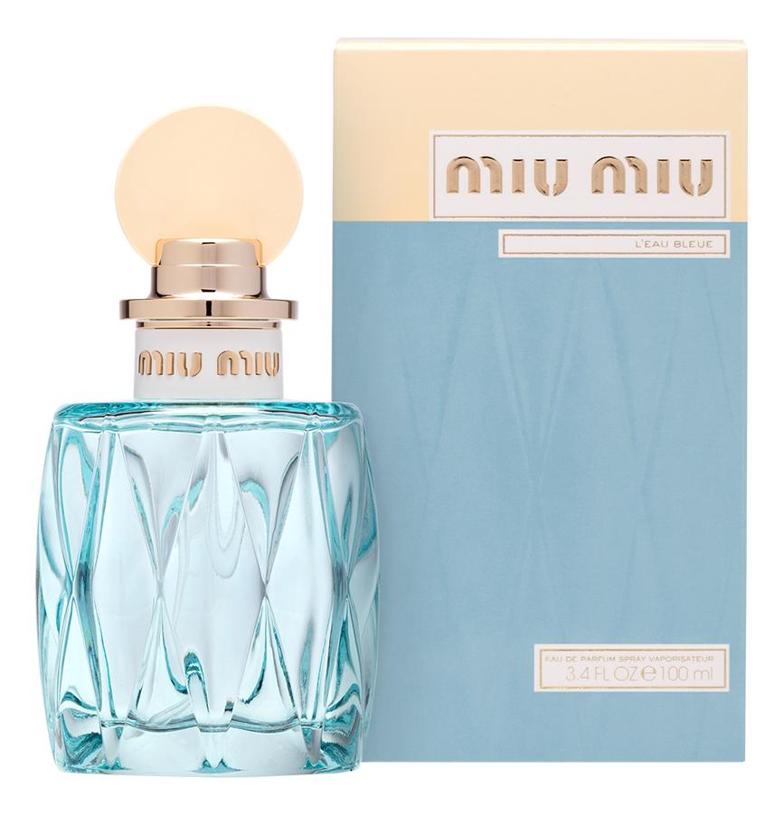 Miu Miu L'Eau Bleue: парфюмерная вода 100мл парфюмерная вода 100 мл miu miu парфюмерная вода 100 мл