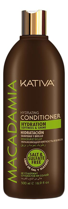 Увлажняющий кондиционер для волос Macadamia Hydrating Conditioner: Кондиционер 500мл macadamia macadamia кондиционер увлажняющий для тонких волос 300 мл