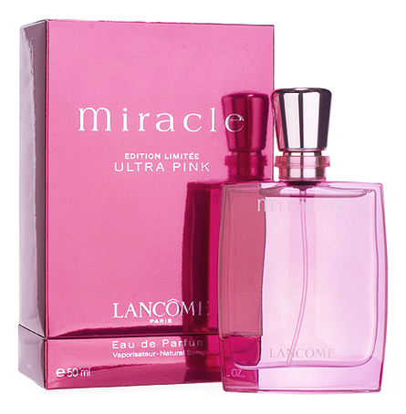 Lancome Miracle Ultra Pink : парфюмерная вода 50мл lancome miracle blossom парфюмерная вода 50мл