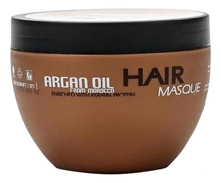 Bingo Hair Cosmetic Восстанавливающая маска для волос с маслом арганы и аминокислотами кератина Morocco Argan Oil Hair Masque 250мл