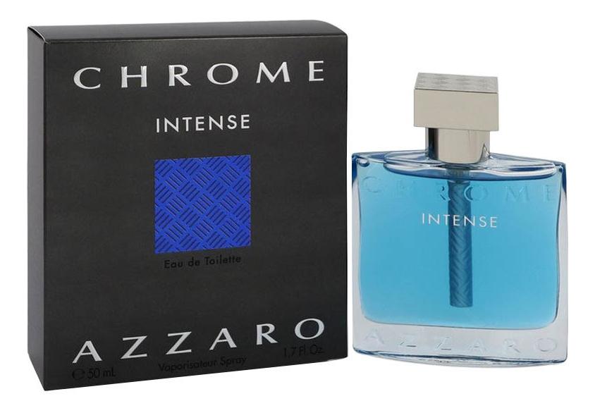 Azzaro Chrome Intense: туалетная вода 50мл loris azzaro azzaro couture