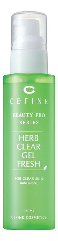 Купить Освежающий пилинг-гель для лица Beauty-Pro Series Herb Clear Gel Fresh 120мл, CEFINE