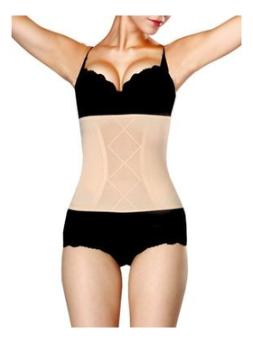 Купить Корректирующий утягивающий корсет Slim'n'Shape Waistband (телесный): Размер L (46-48), Gezatone