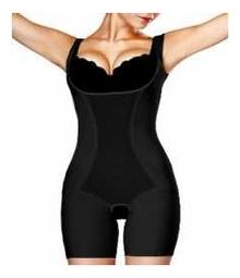 Корректирующий утягивающий комбидрес Slim'n'Shape Bodysuit (черный): Размер S (42-44)