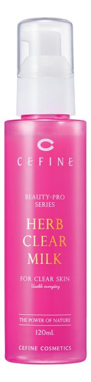 Купить Очищающее молочко-пилинг для лица Beauty-Pro Series Herb Clear Milk 120мл, CEFINE