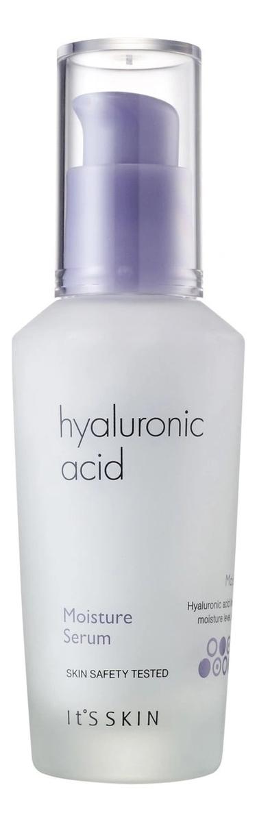 Увлажняющяя сыворотка для лица Hyaluronic Acid Moisture Serum 40мл