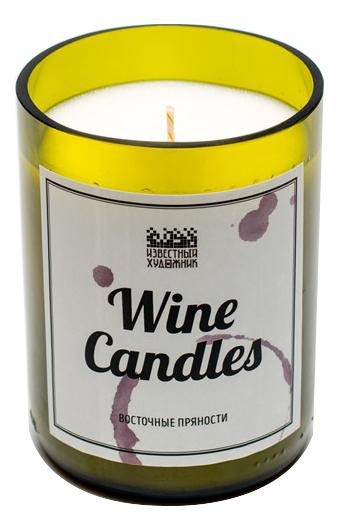 Фото - Ароматическая свеча Wine Candles 250г (восточные пряности) ароматическая свеча какао и табак свеча 250г