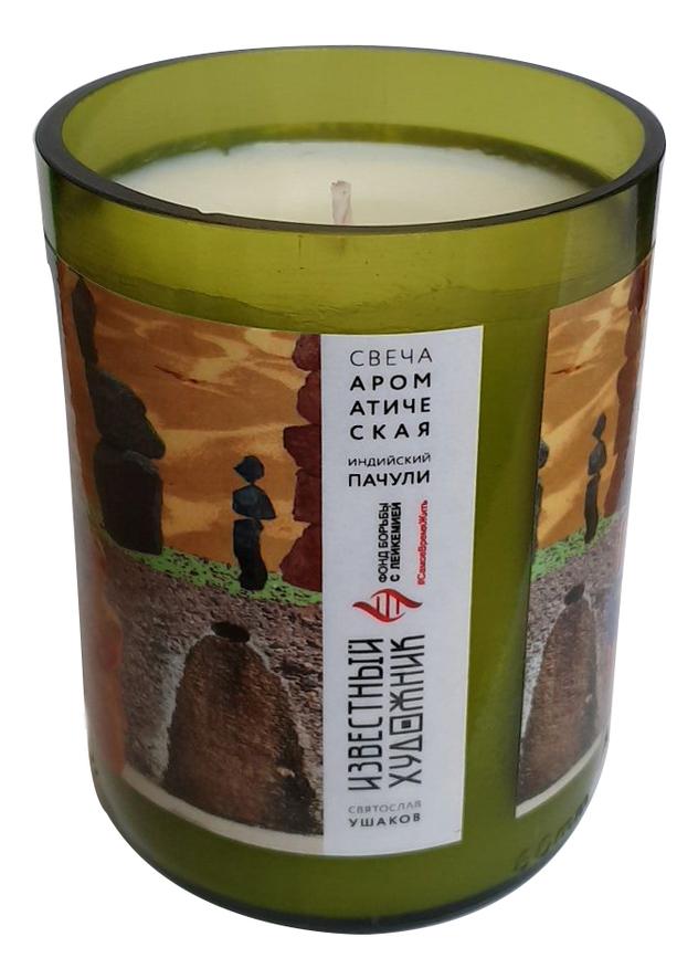 Фото - Ароматическая свеча Wine Candles 250г (индийский пачули) ароматическая свеча какао и табак свеча 250г
