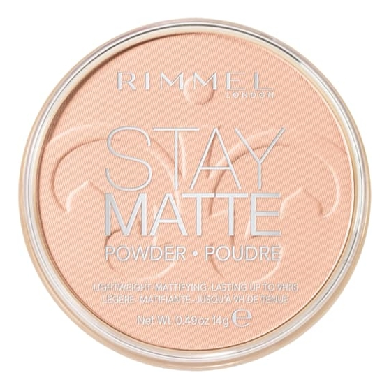 Спрессованная пудра Stay Matte Re-pack 14г: 002 Pink Blossom