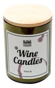 Фото - Ароматическая свеча Wine Candles 250г (роза и уд) ароматическая свеча какао и табак свеча 250г