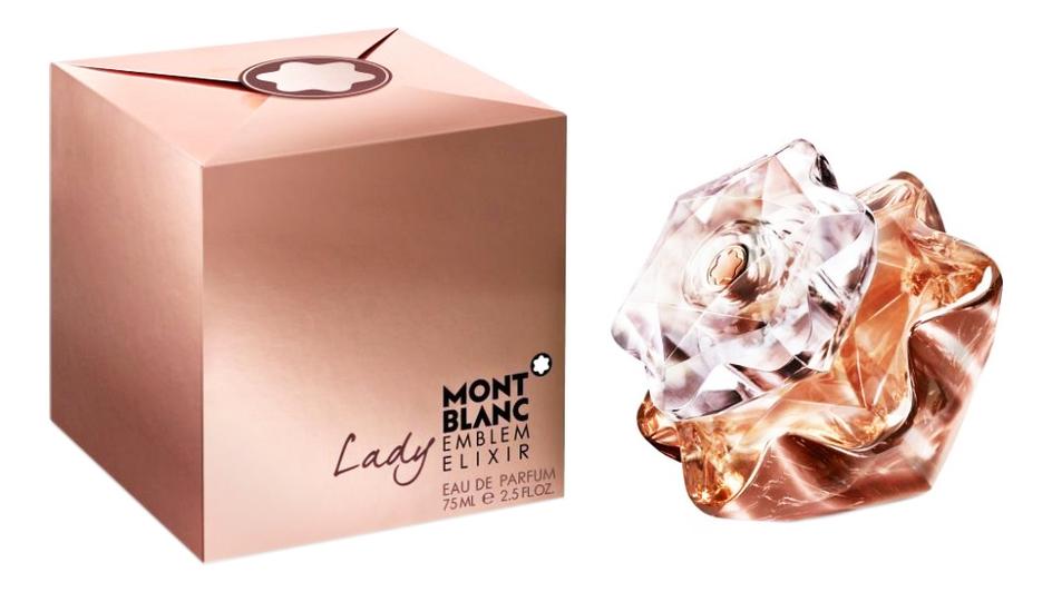 Mont Blanc Lady Emblem Elixir: парфюмерная вода 75мл mont blanc lady emblem парфюмерная вода 30мл тестер