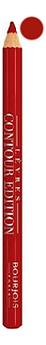 Купить Карандаш контурный для губ Levres Contour Edition 1, 14г: 06 Tout Rouge, Bourjois