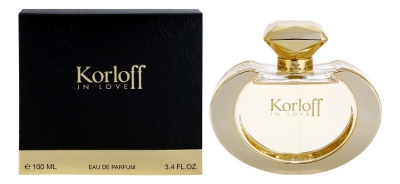 Korloff In Love: парфюмерная вода 100мл laurelle london eternal love парфюмерная вода 100мл