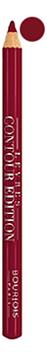 Купить Карандаш контурный для губ Levres Contour Edition 1, 14г: 10 Bordeaux Line, Bourjois