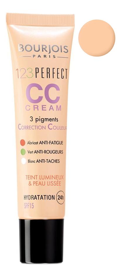 Купить Тональный крем 123 Perfect CC Cream SPF15 30мл: 32 Beige Clair, Bourjois