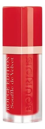 Купить Матовая жидкая помада для губ Rouge Edition Souffle De Velvet 7, 7мл: No 02, Bourjois