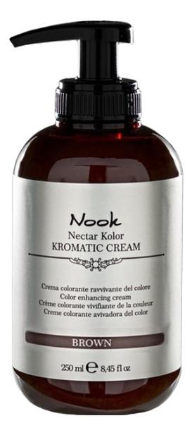 Купить Оттеночный крем-кондиционер Nectar Color Kromatic Cream 250мл: Brown, Nook