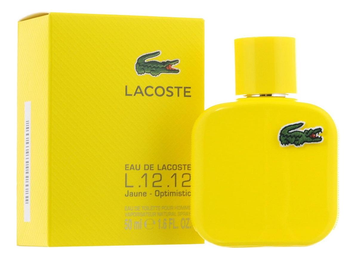 Eau De Lacoste L.12.12 Yellow: туалетная вода 50мл eau de lacoste l 12 12 yellow туалетная вода 100мл