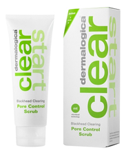 Dermalogica Очищающий скраб для лица Clear Start Blackhead Clearing Pore Control Scrub 75мл