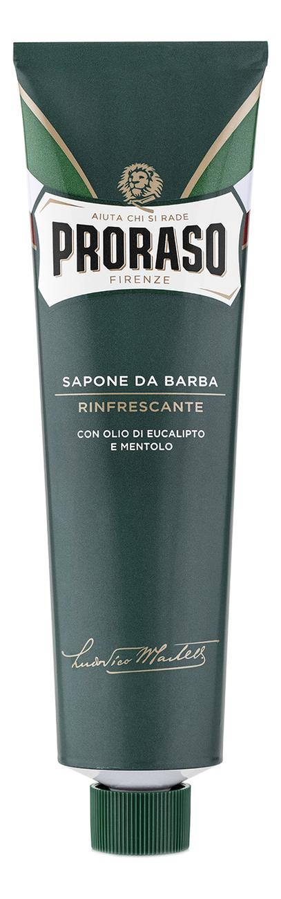 Крем для бритья Ментол и эвкалипт Sapone Da Barba Tutte Le Barbe 150мл: Крем 150мл авен мэн гель для бритья 150мл