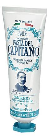Купить Зубная паста для курящих Toothpaste Smokers: зубная паста 25мл, Pasta Del Capitano 1905