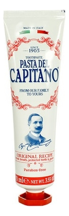 Купить Зубная паста Оригинальный рецепт Toothpaste Original Recipe: зубная паста 75мл, Pasta Del Capitano 1905