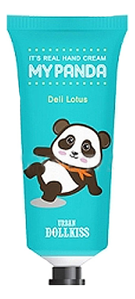 Крем для рук Urban Dollkiss Its Real My Panda Hand Cream Deli Lotus 30г