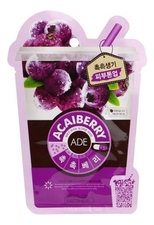 Mediheal Маска для лица с экстрактом ягоды асаи Acaiberry Ade Mask 25мл