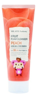 Пенка для умывания с экстрактом персика Fashiony Fruit Foam Cleanser Peach 150мл недорого