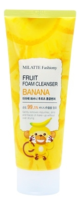 Пенка для умывания c экстрактом банана Fashiony Fruit Foam Cleanser Banana 150мл недорого