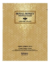 Milatte Маска тканевая с экстрактом меда и прополисом RNW Royal Honey Propolis Mask 25г