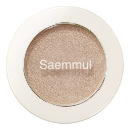 Фото - Тени для век мерцающие Saemmul Single Shadow Shimmer 2г: BE02 тени для век piece matching shadow 2г fsv01 moon flash