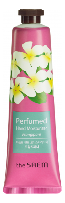 Купить Крем для рук увлажняющий Perfumed Hand Moisturizer Frangipani Old 30мл, The Saem
