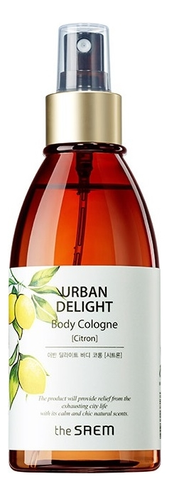 Купить Спрей для тела Urban Delight Body Cologne 150мл: Citron, The Saem