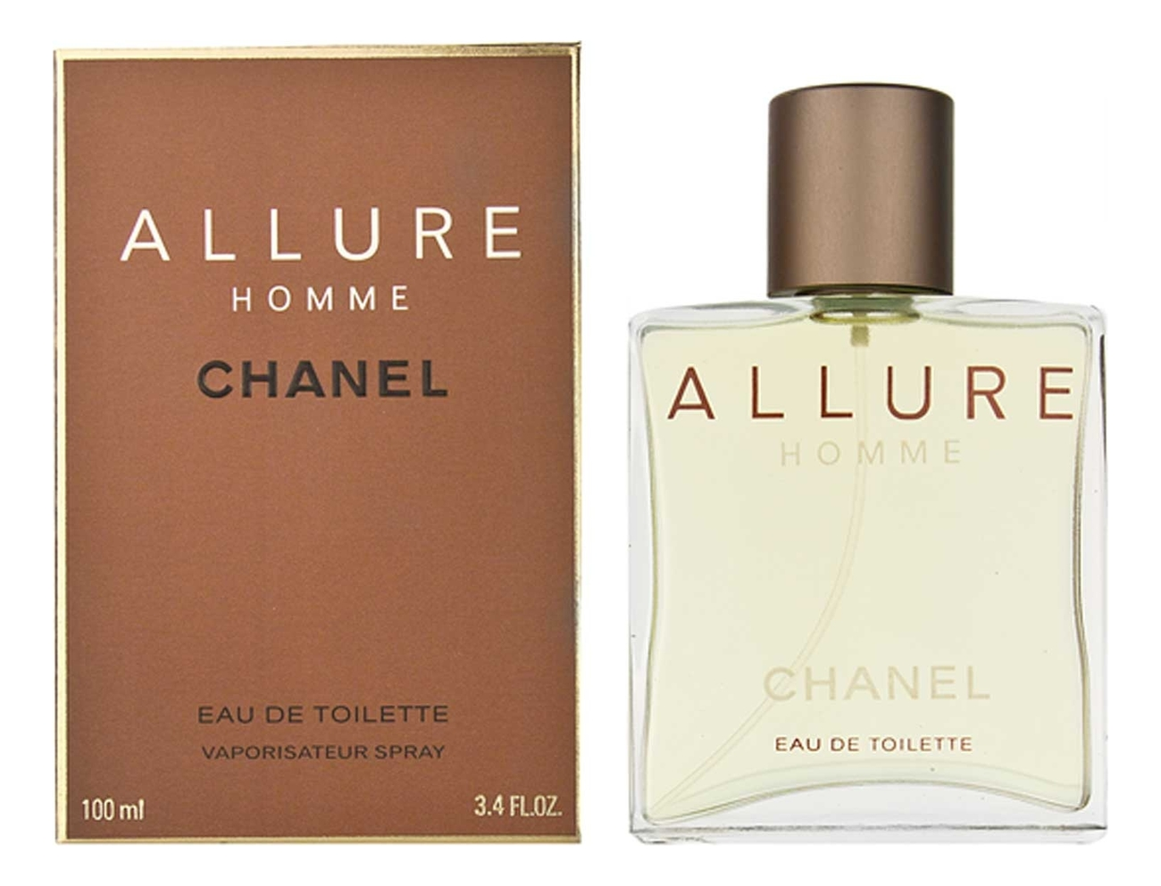 Chanel Allure Homme: туалетная вода 100мл chanel allure духи 7 5мл