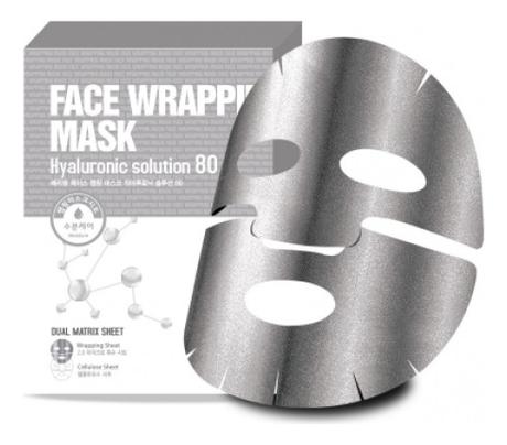 Маска для лица с гиалуроновой кислотой Face Wrapping Mask Hyaluronic Solution 80 27мл