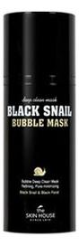 Кислородная маска с муцином улитки Black Snail Bubble Mask 100мл