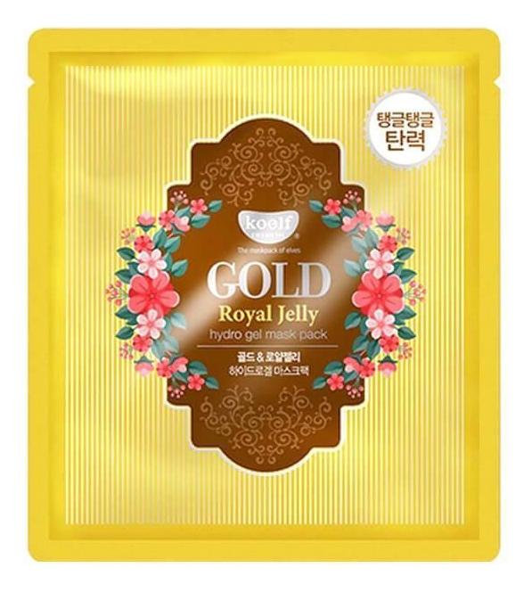 Купить Маска 30г, Гидрогелевая маска для лица с маточным молочком и золотом Gold & Royal Jelly Hydro Gel Mask Pack, Koelf