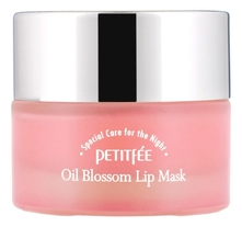 Petitfee Маска-бальзам для губ с маслом камелии и витамином E Oil Blossom Lip Mask 15г