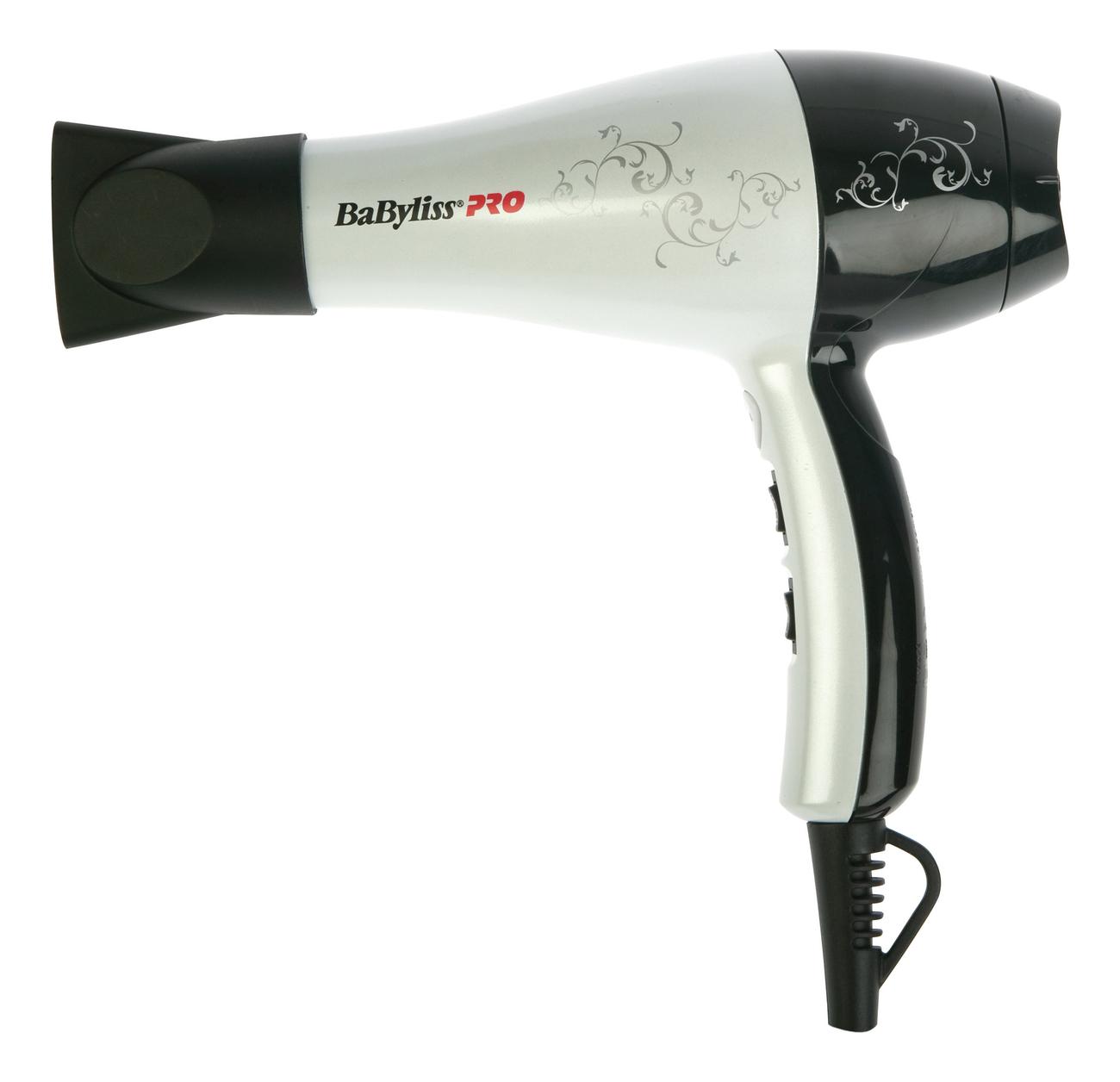Фото - Фен для волос BAB5559WTE 2000W (1 насадка) фен для волос bambino bab5510e 1200w 1 насадка 1 диффузор