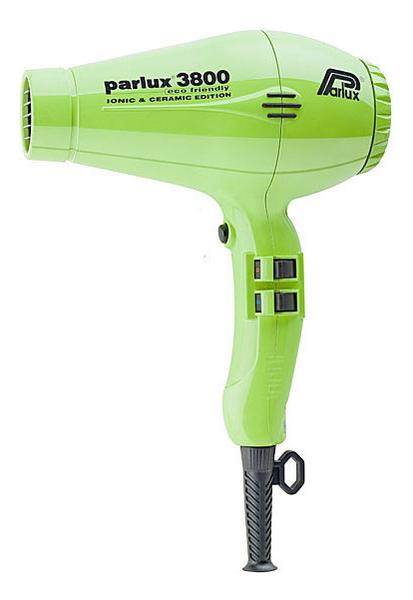 Фен для волос Eco Friendly 3800 2100W (2 насадки, зеленый)