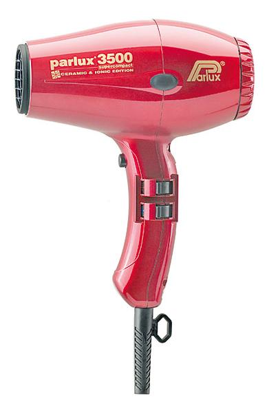 Фен для волос Supercompact 3500 Ceramic & Ionic 2000W (2 насадки, красный) недорого