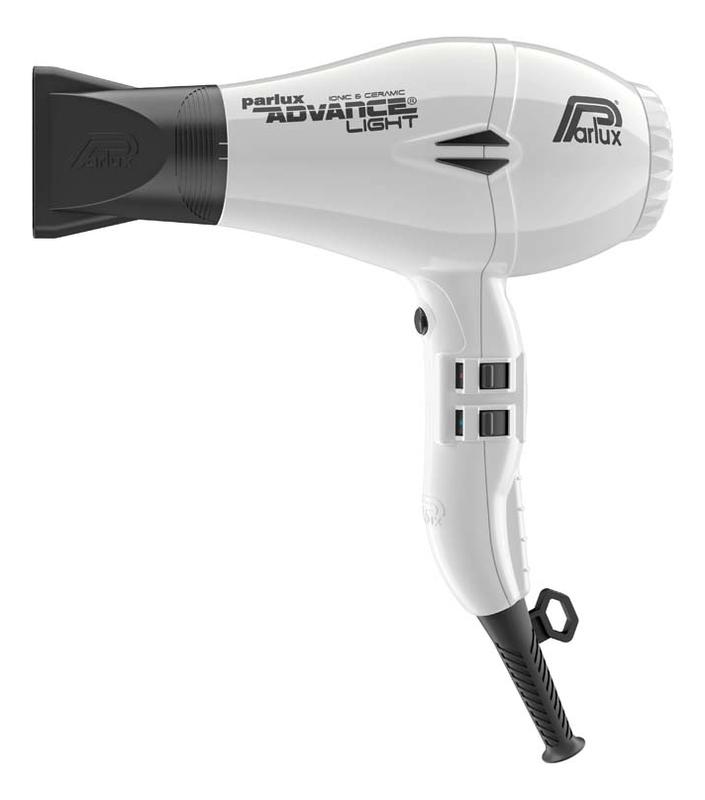 Фен для волос Advance Light 2200W (2 насадки, белый)