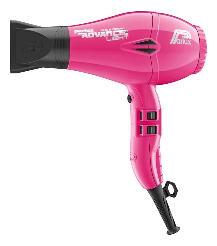 Фен для волос Advance Light 2200W (2 насадки, розовый)