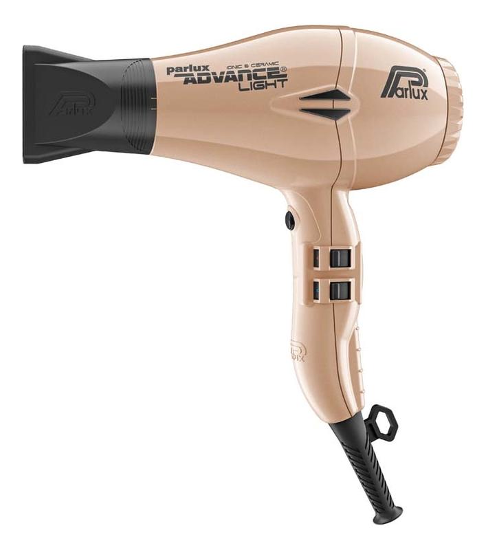 Фен для волос Advance Light 2200W (2 насадки, бежевый)