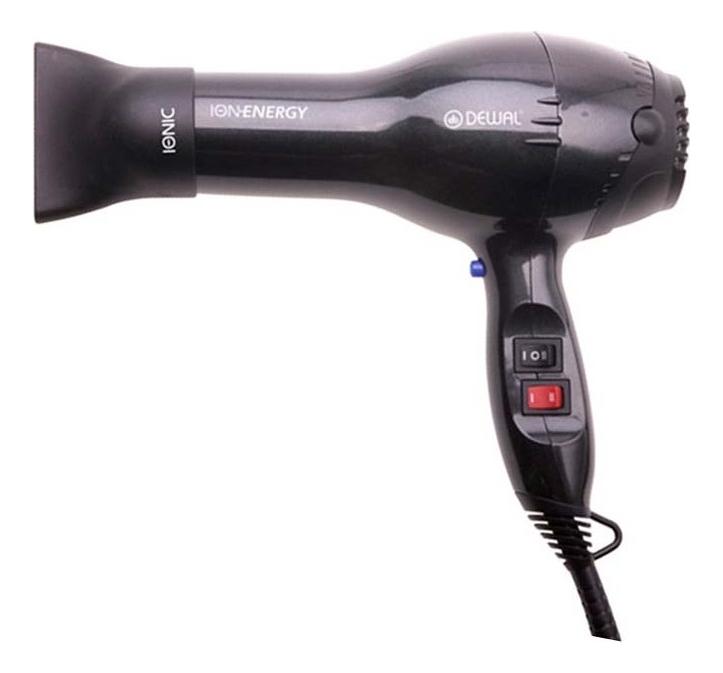 Фен для волос Ion Energy 03-8800 2000W (2 насадки, темно-серый)